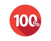 100 Percent  Discount Sale Red...