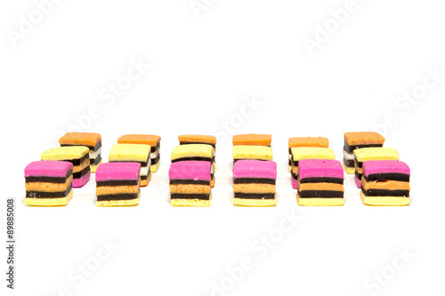 Licorice allsorts rows Wallpaper Mural