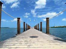 Boardwalk In Key West