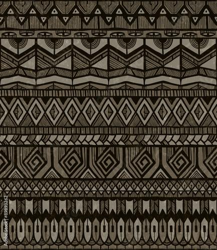 Photo  Vector tribal pattern