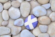 Scotland Flag Pebble