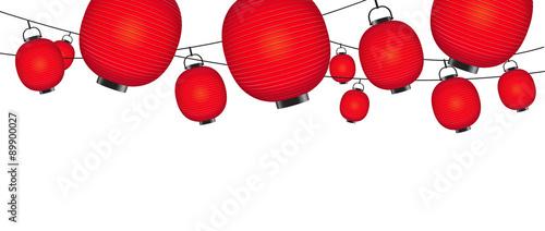 Japanese Lantern template #89900027
