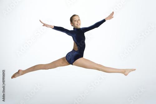 Papiers peints Gymnastique Gymnastic Leap