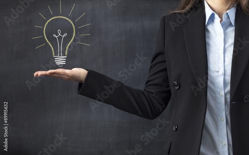 Fotomural  idea concept