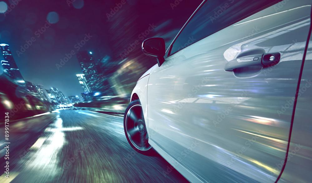 Fototapeta Car at Night