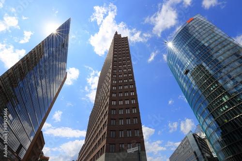 Fotografie, Obraz  Potsdammer Platz in Berlin, Germany