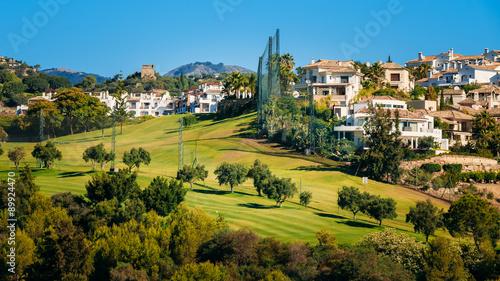 Photographie  Benahavis In Malaga, Andalusia, Spain. Summer Cityscape. Village