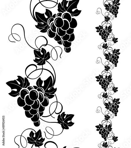 grapevine design elements Fototapete