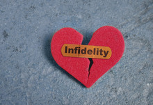 Broken Infidelity Heart