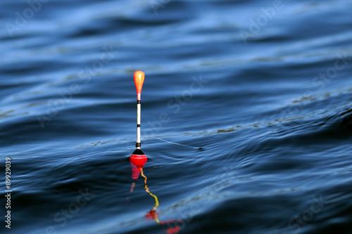 Fotografie, Obraz  fishing float on the water