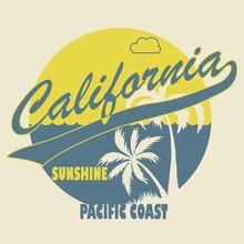 California Typographic T-shirt...