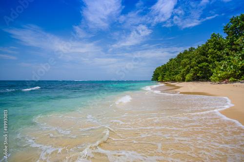 Foto op Canvas Tropical strand Isla Zapatilla at Bocas del Toro Province in Panama