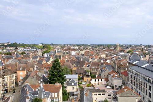 Fotografía  Moulins (vue aérienne)