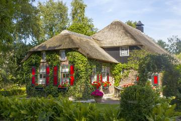 Fototapeta na wymiar GIETHOORN, NETHERLANDS