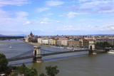 Fototapeta Paryż - Ungheria,Budapest, il Danubio.