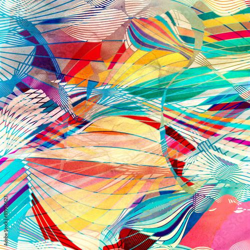 abstrakcyjne-tlo-w-wielobarwne-i-rozne-ksztalty-nieregularne-linie