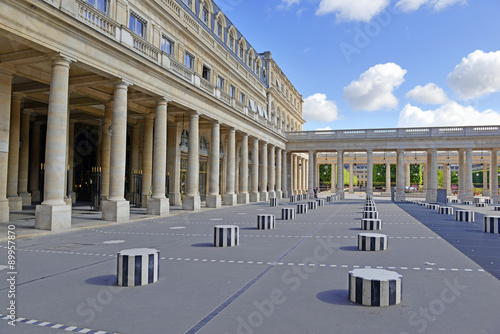 Photographie  The Palais Royale in Paris, France