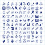 doodle Medical icons
