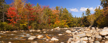 River Through Fall Foliage, Sw...