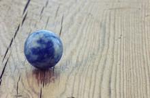 Lapis Lazuli Ball, Macro