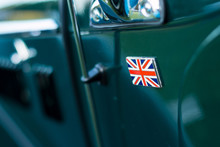 Vintage Car Detail - Union Jac...