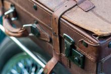 Vintage Car Detail - Suitcase