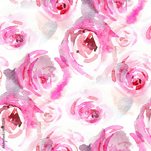 akwarelowe-roze