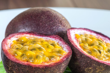 Close-up Passion fruits