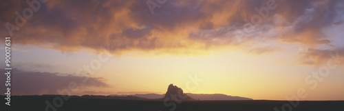 Valokuva  Shiprock Peak, New Mexico