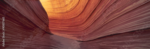 The Wave, Sandstone Formation, Kenab, Utah Canvas-taulu