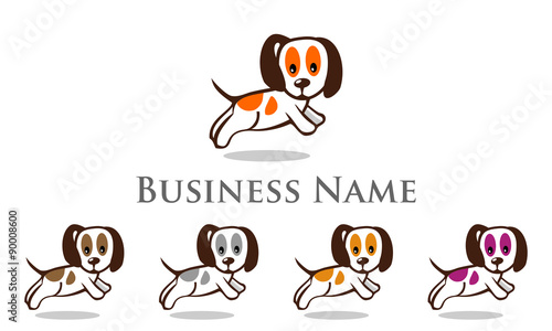 dog, pet, shop, logo,