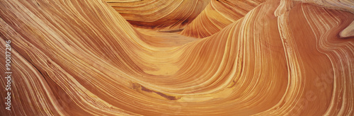 Valokuva  The Wave, Sandstone Formation, Kenab, Utah