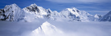 Mountains And Glaciers In Wran...
