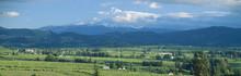 Hood River Valley And Mount Hood, Oregon