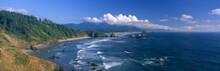 Sea Stacks Rock Formations, Cannon Beach, Oregon