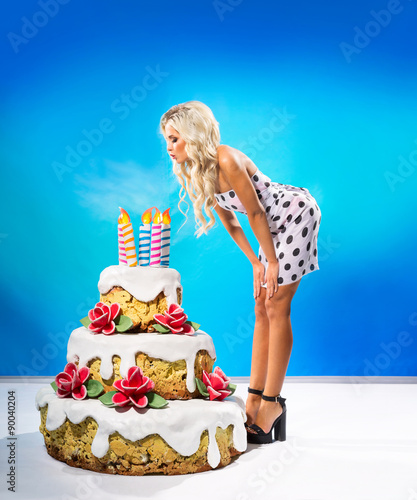 Sexy girl birthday pictures