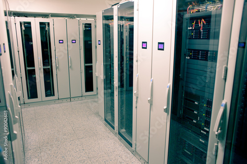 Obraz Data warehouse - fototapety do salonu