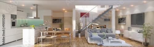 Obraz luxury Apartment - Luxus Apartment - fototapety do salonu