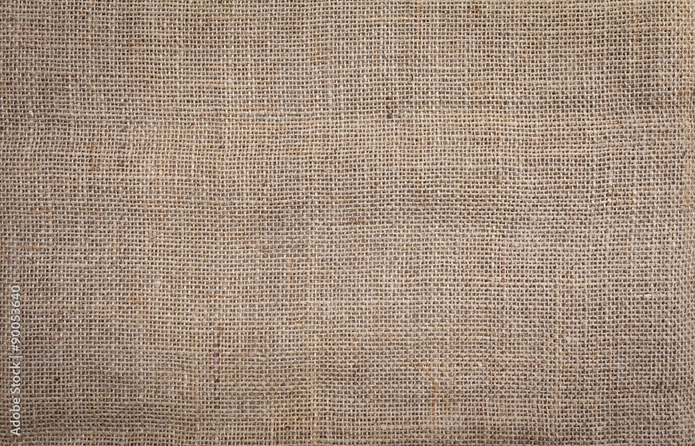 Fototapety, obrazy: Hessian texture natural color background