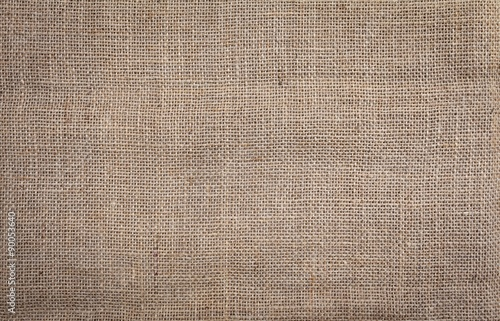 Poster de jardin Tissu Hessian texture natural color background