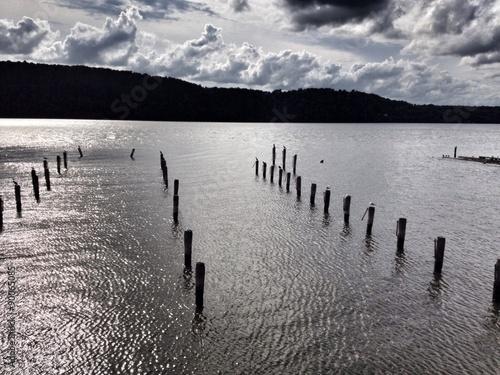 Juliste  Hudson River silhouettes