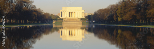 Photographie  Lincoln Memorial & reflecting pool