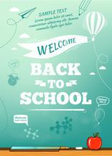 Back To School Poster, Educati...