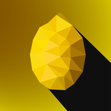Vector Illustration Of A Lemon