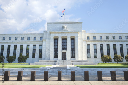 Foto op Plexiglas Historisch geb. Federal Reserve building in Washington, DC