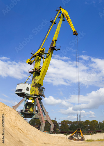 Fotografija  Construction crane