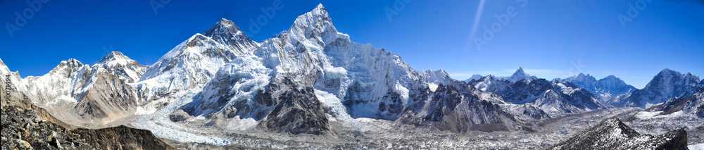 Fototapety, obrazy: Mount Everest panorama