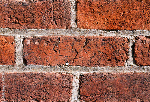 Fotografie, Obraz  Textured Brick in the Wall