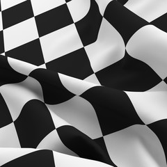 Auto sport grid flag background