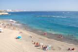 Fototapeta Fototapety z morzem do Twojej sypialni - Przepiękna lazurowa Playa Del Duque w Adeje na Teneryfie
